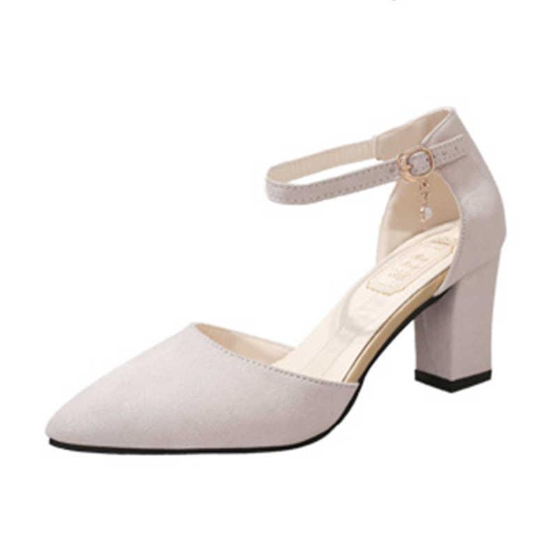 SLYXSH 2018 HEIßER Frauen Schuhe Spitz Pumpen Wildleder Freizeit Kleid Schuhe High Heels Boot Hochzeit schuhe