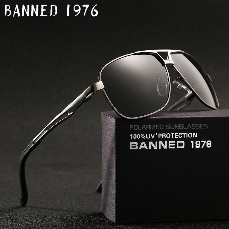 2017 real dos homens de alta qualidade HD polarized metal Óculos de Sol da moda Oculos óculos óculos de condução Óculos de Sol para o sexo masculino com caixa original
