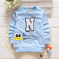 2016 Free Shipping Spring Style Baby Boys&girls T Shirts Children Clothing Kids Clothes Letter T-shirt Boys 6-24M
