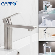GAPPO basin faucet water mixer tap stainless steel Basin sink Faucet bathroom single hole waterfall toilet