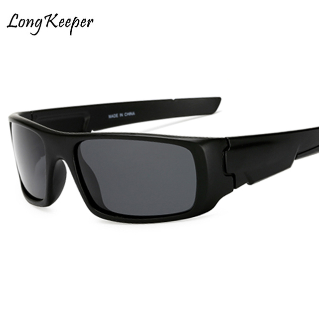 1cad18828b4 Long Keeper Men s Polarized Sunglasses Night Vision Yellow Lens Mirror  Coating Sun Glasses Male Night Driving Safe Eyewear Gafas