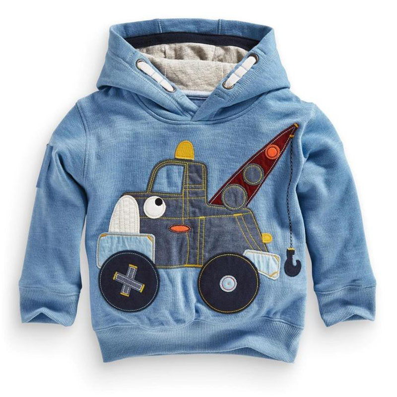 Little maven Boys and Girls Fleece Sweatshirt Cartoon Hoodies T-shirt Sweater Children hoodies 2-7 years Sweatshirts hoodies