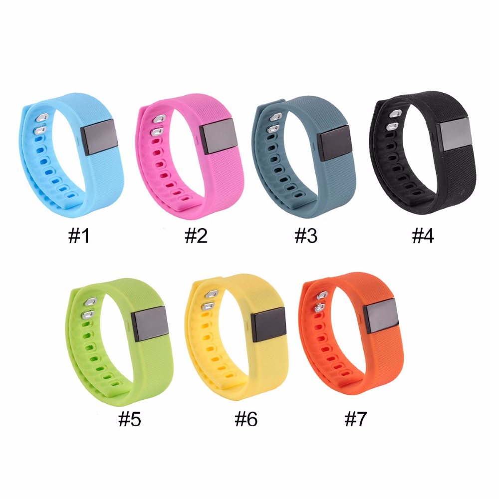 JRGK TW64 Fitness Tracker Bluetooth Smartband Sport Bracelet Smart Band Wristband Pedometer For iPhone IOS Android