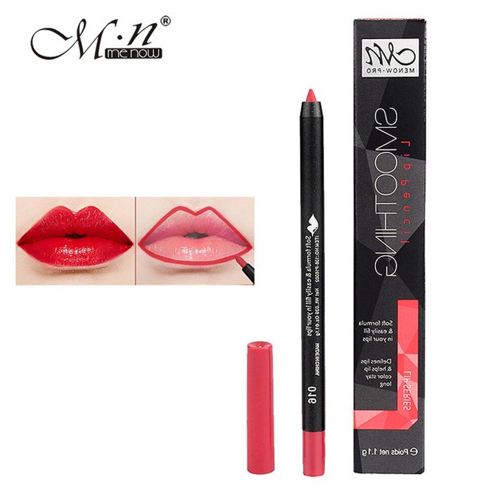 materiali superiori stile moderno più popolare Menow labbro trucco opaco matita matita labbra 9 colori ...