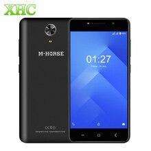 "M-HORSE Puissance 1 5.0 ""Smartphone Android 7.0 Quad Core 1 GB RAM 8 GB ROM 1280×720 pixels OTA OTG Dual SIM 3G WCDMA Mobile téléphones"