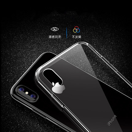High Quality Anti-knock Transparent Case for Apple IPhone X 8 7 6 6S Plus Clear Soft TPU Cover