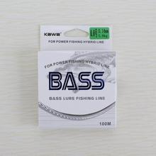 KAWA NEW PRODUCTION BASS nylon line, protofilament imported from JAPAN, high strong tension, low ductility, free shipping