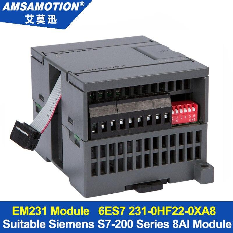 Amsamotion 8AI Extension Module Suitable Siemens S7-200 PLC 8 Input Analog Module EM231 6ES7 231-0HF22-0XA8