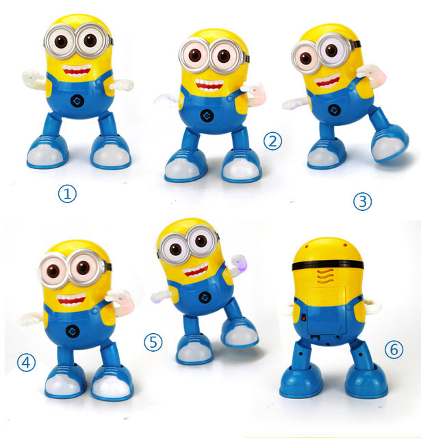 estartek lovery dancing minions with music led light for birthday christmas holiday gift