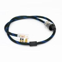 Gran Bretaña eléctrica enchufe cable 4N OFC HiFi cable de alimentación anti-interferencia hogar dispositivo de sonido audio Zócalos de extensión