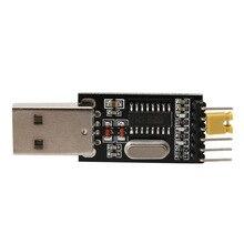 CH340G OOTDTY USB для TTL Конвертер Модуль Адаптера STC Dowanloader Programmer3.3V 5 В 1 шт.