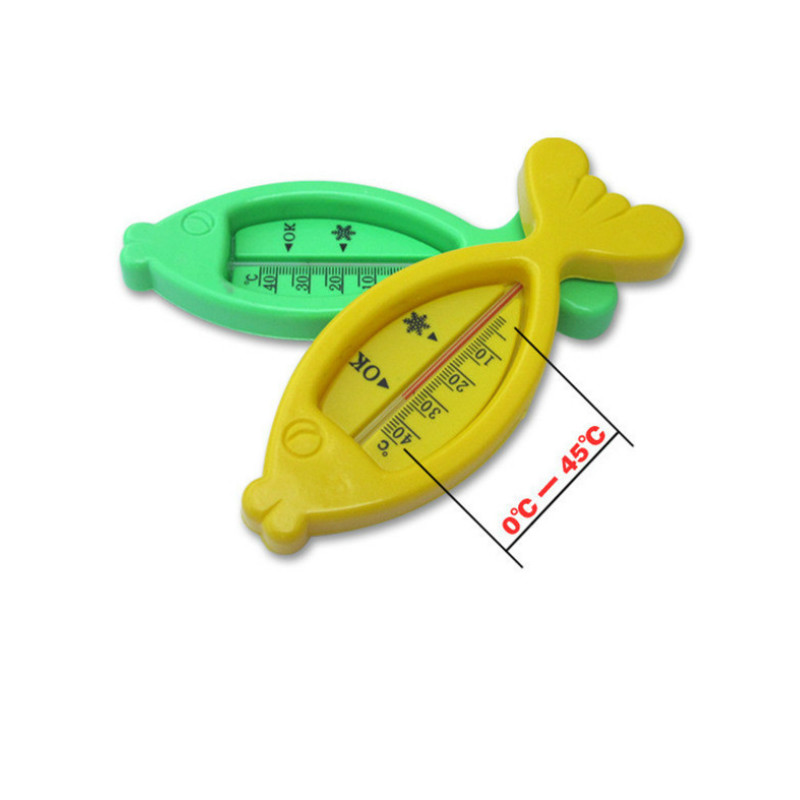 Baby Bathing Fish Shape Temperature Water Thermometer Infants Toddler Shower
