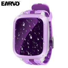 Original ds18 kids baby monitor de smart watch seguro teléfono gps + wifi + llamada sos localizador rastreador anti perdido apoyo sim tarjeta para niños