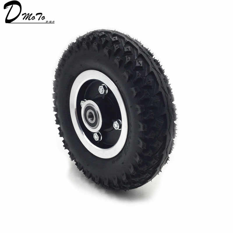 Tire and Inner Tube 200X50 Full Wheels for Electric Scooter Wheel Chair Truck Pneumatic Trolley Cart