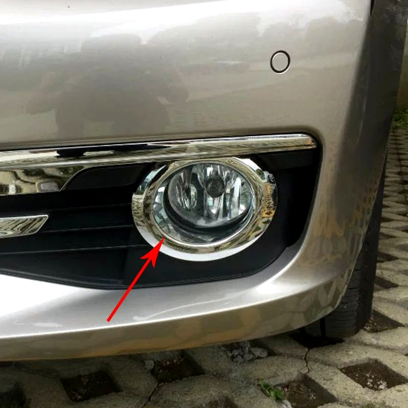 Fit For BMW 3 Series 2016 Car Front Fog Light Lamp Molding