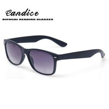 84697c3861 Bifocales gafas de lectura progresiva Grey lente hombres y mujeres la  presbicia gafas de pesca al