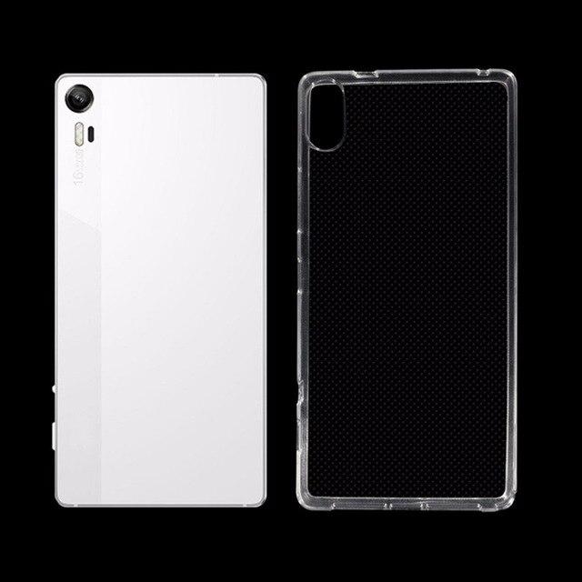 100 Cas De Telephone Silicone Dorigine Pour Lenovo Vibe Z90 Transparent TPU