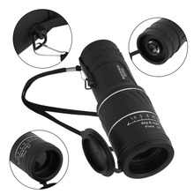 30×52 Dual Focus Zoom Optic Lens Monocular Telescope Binoculars Multi Coating Lenses Dual Focus Optic Lens Day Night Vision