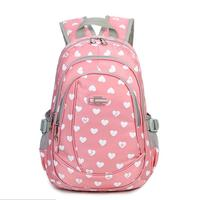 bag again 022217 new hot sweet girl printing travel backpack student school bag