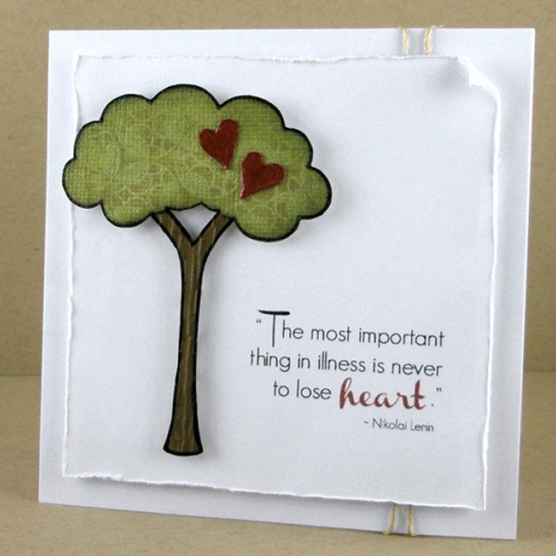 Arts,crafts & Sewing Heart Tree Metal Steel Cutting Dies Stencil Diy Child Craft Cartoon Cards Scrapbooking Dies Decorative Paper Cart Embossing