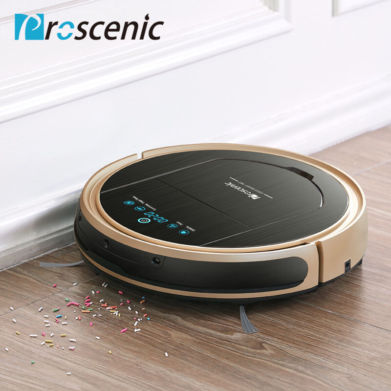 Robotic Vacuum Cleaner Proscenic 790T Vacuum Mop Sweep 3 in 1 Cleaner for Pet Hair Wifi Connected Ro