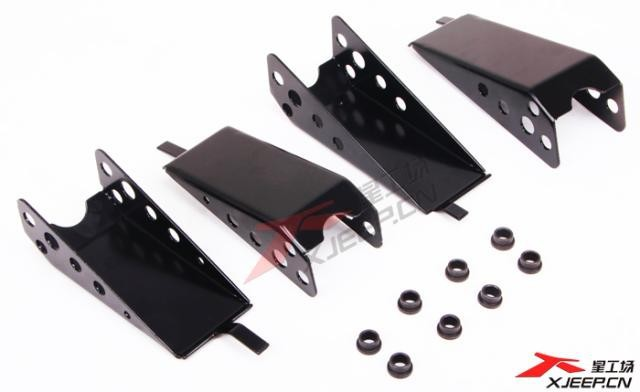 Swing Arm Skid Plate, chassis shield, Skid Plate, 4X4 off road accessories for Jimny JB43