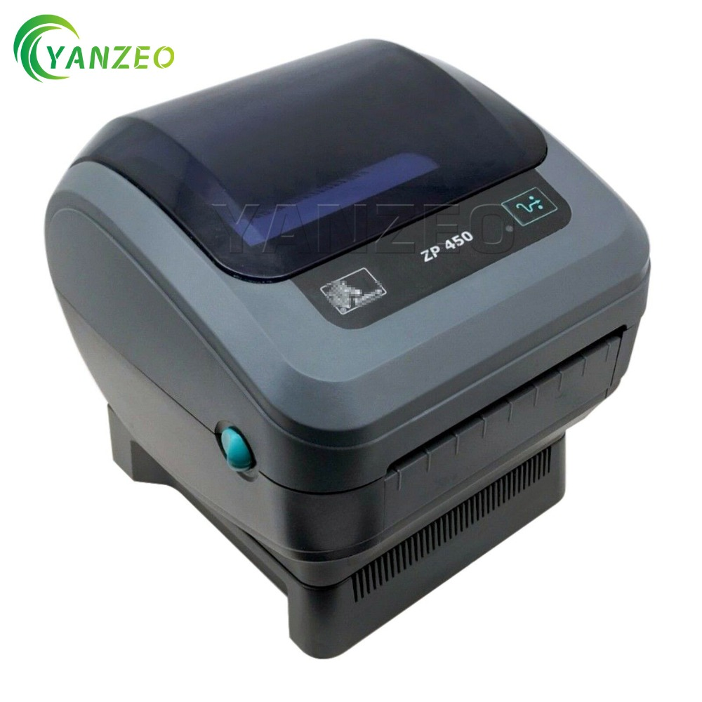 ZP450 0201 0000A For Zebra ZP450 Thermal Label Barcode Printer 250 Labels Free Remote Tech Support-in Printer Parts from Computer & Office    1
