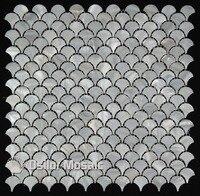 Darmowa wysyłka biały kolor 100% naturalne Chiński słodkowodna shell masa perłowa mozaika do dekoracji łazienki płytki ścienne