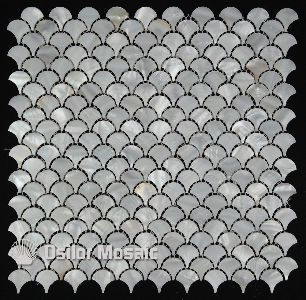 popularne pearl mosaic tiles kupuj tanie pearl mosaic