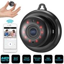 купить Mini Full HD 1080P Camera Professional Wireless Wifi Home IP Camera Camcorder Monitor Night Vision Secret Security Video Cam недорого