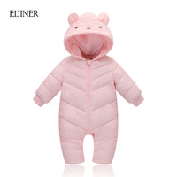 Baby Girl Winter Clothes 2017 New Warm Baby Boy Winter Clothes Snowsuit Winter Overalls For Newborn