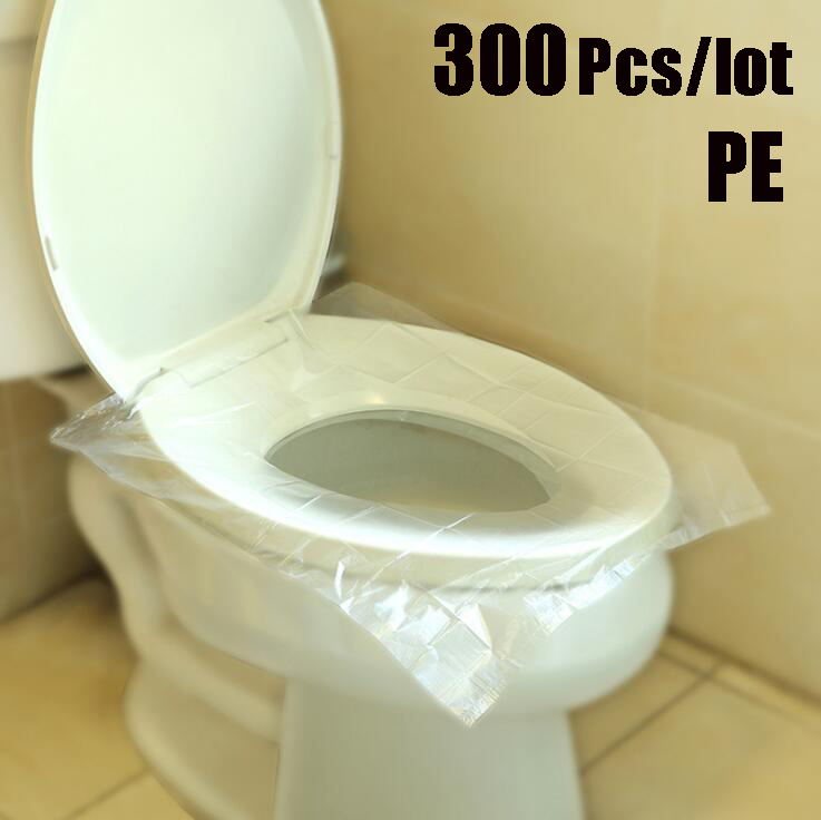 Pleasant Us 35 2 5 Off 300Pcs Pe Waterproof Potty Bathroom Disposable Toilet Seat Cover Disposable Toilet Mat Pad Travel Office Market Free Delivery In Machost Co Dining Chair Design Ideas Machostcouk