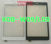 LOVAIN 10Pcs Original Black White For Huawei MediaPad T3 8 0 KOB L09 KOB W09 Touch