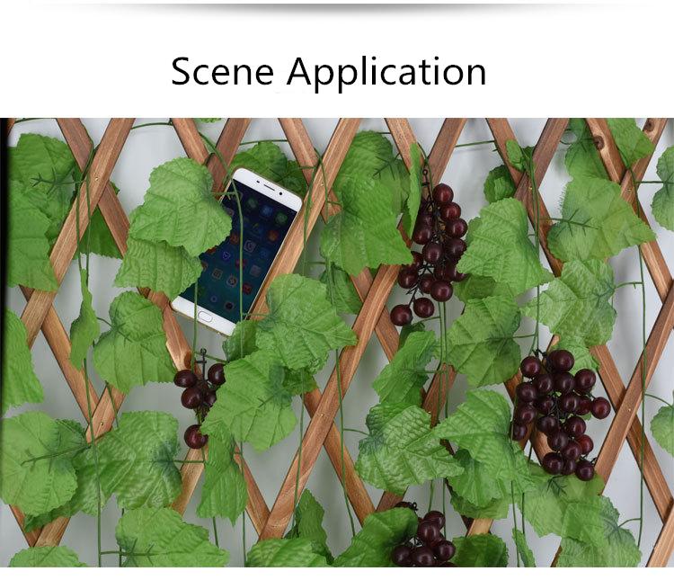 10 Style 1pc Artificial Decoration Vivid Vine Rattan Leaf Vagina Grass Plants Grape Leaves For Home Garden Party Decor B1015 Artificial Plants Aliexpress