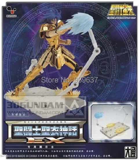 DATONG model / Cloth Myth Saint Seiya EX stand dedicated platform effects Showcase three loaded