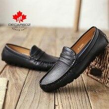 מוקסינים נעלי גברים אופנה נעלי גברים 2020 סתיו קומפי להחליק על גברים של דירות מוקסינים זכר הנעלה מותג עור גברים נעליים יומיומיות