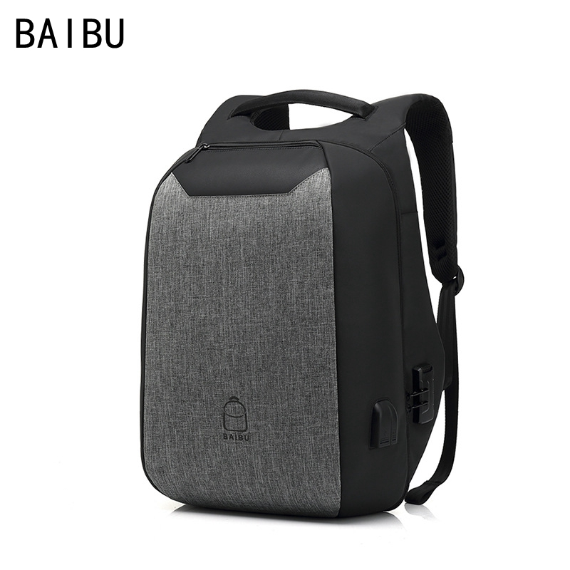 купить BAIBU Multifunction password Backpack travel Anti-theft 15.6