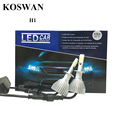New Design No Fan Series H1 Headlight 64W/Set 4400LM COB LED Headlight 6000K White Fog Headlight Slim Mini Led Headlight Bulb H1