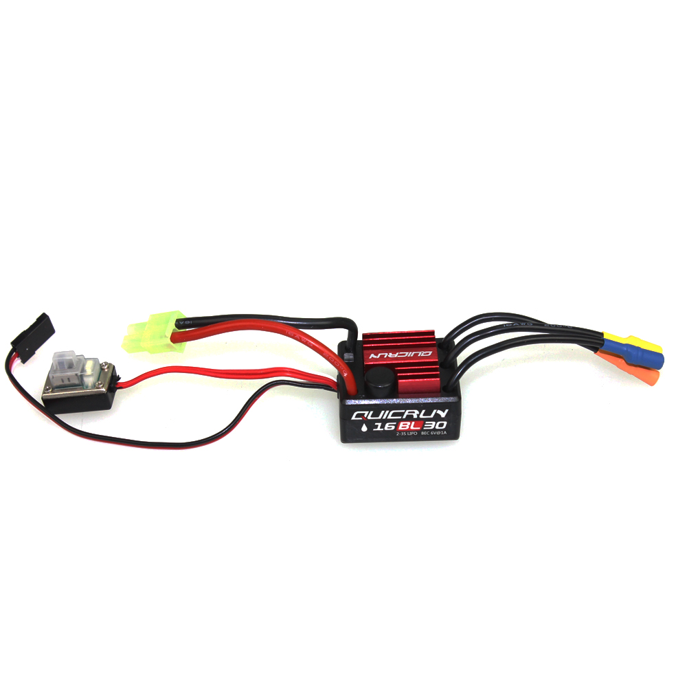 F17871 3 Hobbywing QUICRUN WP16BL30 WP10BL60 WP8BL150 Speed Controller 30A 60A 150A 2 6S Lipo BEC