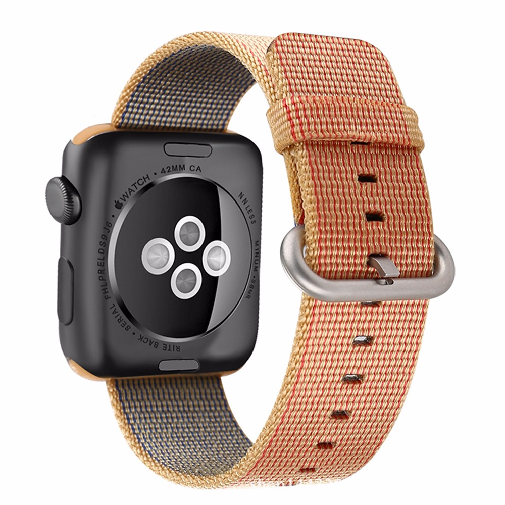 Woven-Nylon-Casual-Sports-Men-Women-Watch-Band-for-Apple-Watch-Iwatch-Strap-Wrist-Bracelet-Connector (3)