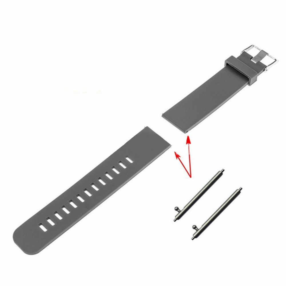 2PC Stainless Steel Strap Band Connector Adapter Connector For Samsung Galaxy watch 46mm Seamless Aluminum wrist Strap Link#T3
