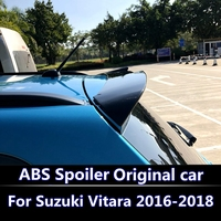 For Suzuki NEW Vitara 2016 spoiler High Quality ABS Plastic Material Unpainted Primer Color Rear Boot Trunk Wing Spoiler
