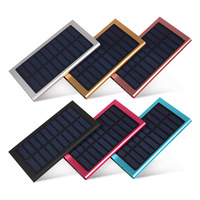 MSL 12000mAh Solar Mobile Power Bank 2USB Solar Charger For IPhone Samsung Xiaomi Huawei Ect External