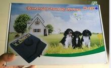 Sistema de Contención de Mascotas Esgrima perro Electrónico Impermeable y recargable Perro electric fence perro mascota collar de entrenamiento w227b