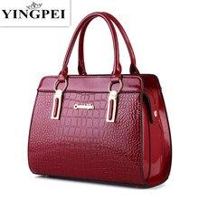 YINGPEI mujeres messenger bags tote lujo crossbody bolsos de cuero embrague bolsos de marcas famosas de diseño de Alta calidad
