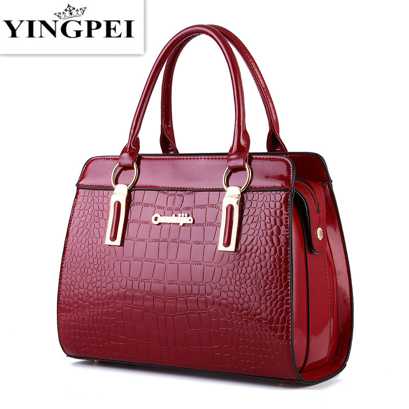 YINGPEI women messenger bags luxury tote Top-Handl  crossbody purses leather clutch handbags famous brands designer High quality