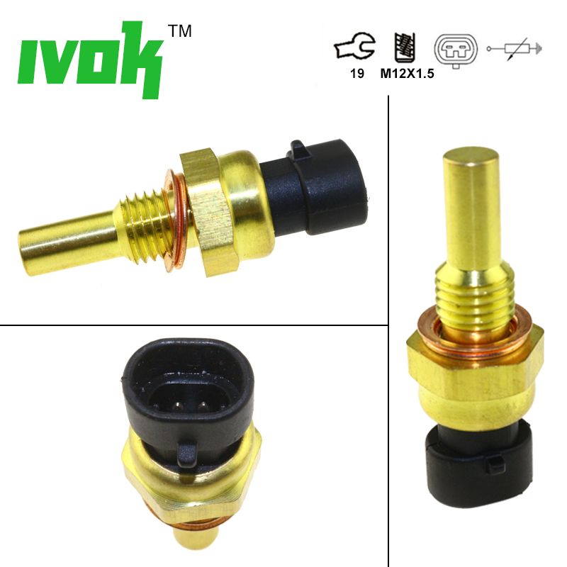 US $15 35 17% OFF|Intake Air Temperature Temp IAT Sensor For CUMMINS 98 02  Dodge Ram 2500 3500 Ram2500 Ram3500 5 9L Turbo Diesel Trucks-in Temperature