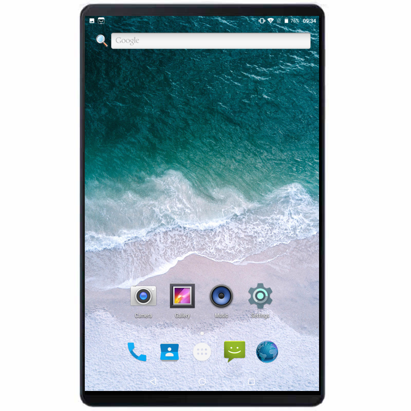 2020 HiPad Phablet 10 Inch Tablets Android 7.0 MTK Quad Core 1.2GHz 2GB RAM 32GB ROM Dual Camera 3000mAh Tablets PC 10.1