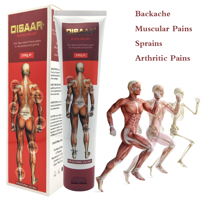 100g Pain Relief Cream In Muscles Massage Cream Joints Muscle Pain Ointment Injured Body Muscle Reliving Massage Cream