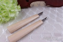 2pcs gravers,wood carving tools violin Viola tools knives making tools #303